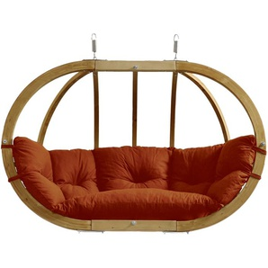 Hängesessel Globo Royal Chair aus Holz von Amazonas inkl. Kissen