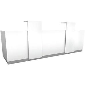 Theke »Calgary« weiß, fm Büromöbel, 344x100x93.9 cm
