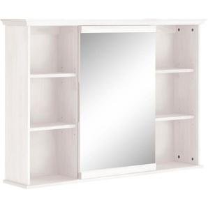 Home affaire Spiegelschrank »Tili«, FSC®-zertifiziert, weiß, Material Massivholz