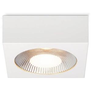 Brilliant Leuchten Babett LED Aufbauleuchte 20x20cm weiß