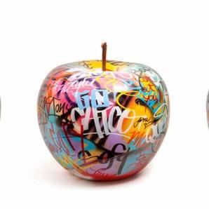 Kunstobjekt Graffiti Apfel - 39 cm
