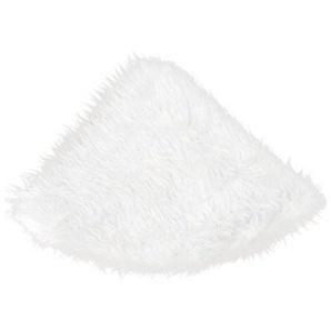 wuayi 78 cm Warmen Weihnachtsbaum Weißen Rock Weihnachten Plüsch Langhaarige Einzigartige Dekoration Schnee Gefühl (Weiß)