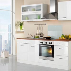 HELD MÖBEL Küchenzeile ohne E-Geräte »Fulda, Breite 210 cm«