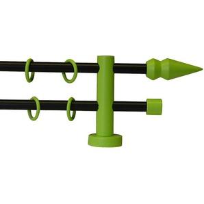 Garesa Gardinenstange »One Spitze ø 16 mm«, Ø 16mm, grün