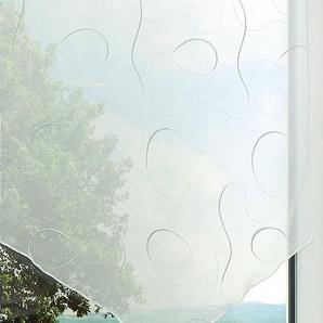 Scheibengardine  von LYSEL® Silver  (Bx H) 60cm * 80cm silber/grau