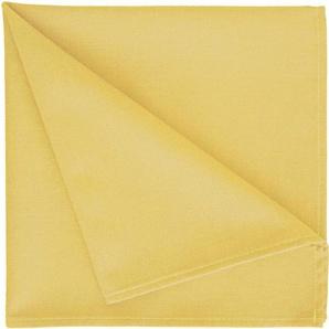 Stoffserviette , gelb, 42x42cm, »4388 Uni-Basic«, APELT