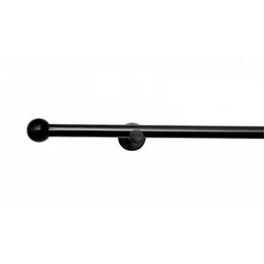 Gardinenstange »Stilgarnitur auf Maß Kugel«, metablo, Ø 16 mm, 1-läufig, Wunschmaßlänge
