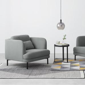 Herman 3-Sitzer Sofa, Baumwolle in Finkgrau