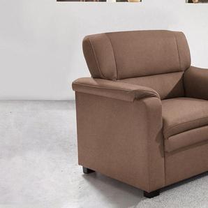 Raum.id Sessel, braun, B/H/T: 86x45x54cm, komfortabler Federkern, hoher Sitzkomfort