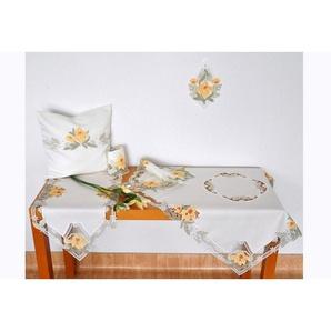 Stickereien Plauen Tischdecke »Lilienzeit«