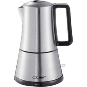 Cloer Espressokocher 5928 silber Edelstahl
