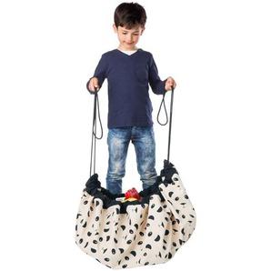 Spielzeugbeutel Play & Go, Panda, 140 cm Durchmesser, aus Baumwolle
