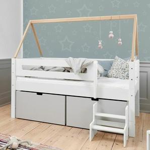 Kinderbett 90x160 cm, weiß, weitere Farben & Größen bei BETTEN.de