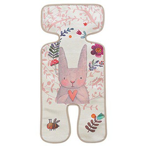 Dabixx Kinderwagen Mat Sommer kühl EIS Seide Kissen Breathable Neugeborenen Sitz Stuhl Pad Kaninchen