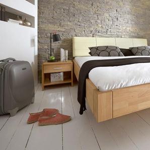 Doppelbett aus Holz Chessa - 200x200 cm - Buche natur