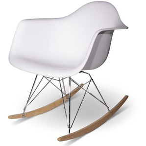 Eames Rocking Chair RAR- Weiß