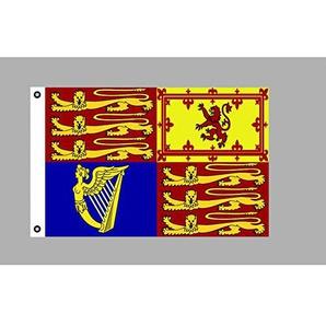 Flagge 90 x 150 : British Royal Standard / Flagge der Königin (G