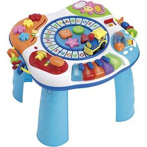 WinFun Baby Spieltisch Activity Tisch mit Piano ABC-Lok Motorik Trainer Babyspielzeug