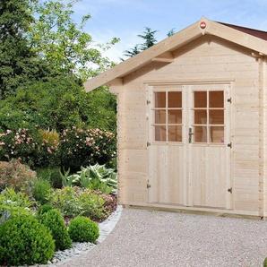 WEKA Set: Gartenhaus »Gr.2«, BxT: 420x310 cm, inkl. Dachschindeln und Fußboden