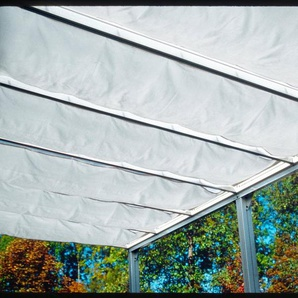 BECKMANN Sonnendach »Trend Gr. 4«, 7 Stk. á 54x300 cm, weiß
