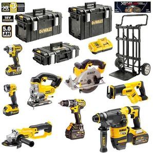 DeWALT Kit DCK-FP833MP4 54V/18V (DCD796 + DCG412 + DCH333 + DCS387 + DCS391 + DCS331 + DCL040 + DCF887 + 2 x 5,0 Ah 18V + 2 x 6,0 Ah 54V/18V + DCB118 + DS150 + DS300 + DS400 + Caddy)