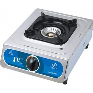 CAGO JV 02 Gaskocher 1-flammig aus Edelstahl 5,0 kW