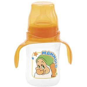 Disney Milchfläschchen mit Breitem Hals, Zeichnung Mammolo, Orange, 240 ml