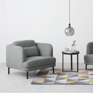 Herman 2-Sitzer Sofa, Baumwolle in Finkgrau