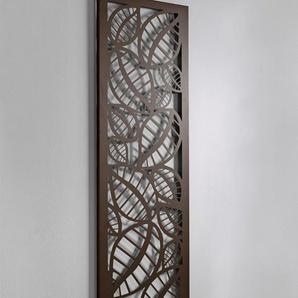 Wandgarderobe und Memoboard, braun, Gr. 140/40/2 cm,  home