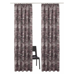 Vorhang »Hulla«, my home Selection, Kräuselband (2 Stück)