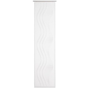 GÖZZE LA OLA Schiebevorhang 60 x 245 cm in Weiß