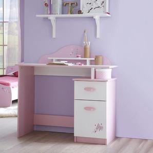 demeyere Schreibtisch ,Rosa ,Kunststoff