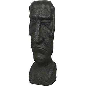 H.G. Figur Kunstharz, 34 x 28 x 100 cm, grau