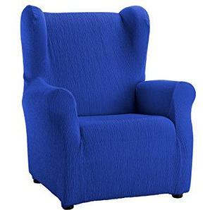 Martina Home Emilia Tasche Sillón Orejero elektrischen, Stoff, Blau, 33x 8x 42cm