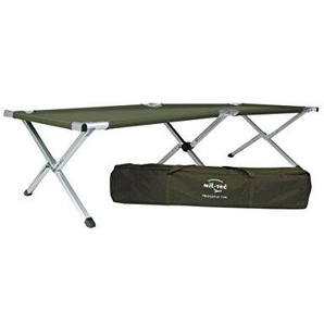 Mil-Tec Aluminium Folding Camp Bed US Style Folding cot with Bag
