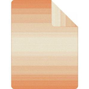 IBENA Jacquard-Decke EGERSUND Orange