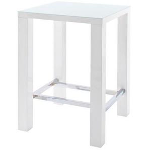 Novel: Tisch, Weiß, B/H/T 80 108 80