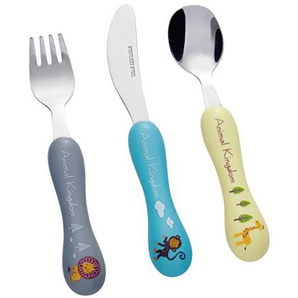 BON Animal Kingdom Kinderbesteck Set, 3-teilig, Edelstahl