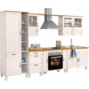 Home affaire Küchenblock »Alby« Breite 325 cm aus massiver Kiefer