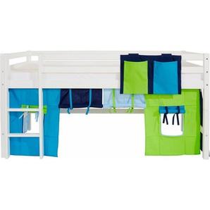 Hoppekids Vorhang-Set »Multicolor« (2-tlg.), blau
