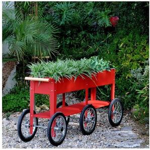HERSTERA GARDEN Hochbeet »Wheels«, BxTxH: 150x35x80 cm