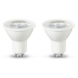 Basics LED GU10, 4,7 W zu 50 W, 345 Lumen, 2er-Pack