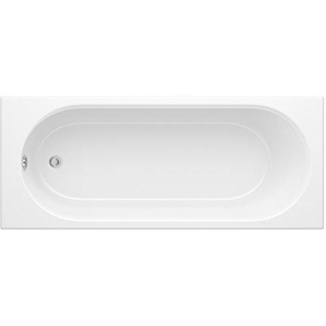 Hudson Reed Badewanne Klein - Einbaubadewanne aus Acryl in Weiß - 1500 mm x 700 mm - 165 Liter Fassungsvermögen