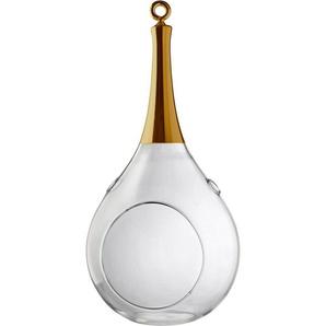 SOMPEX Windlicht »TAURA« (1 Stück), aus Glas, mundgeblasen, goldfarben