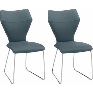 Stühle »Tempra«, blau, Gallery M