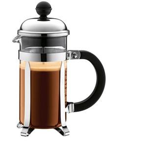 bodum Kaffeebereiter /Kaffeepresse 350 ml CHAMBORD Schwarz/Transparent