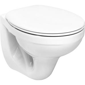 CMI Wand-WC-Set inkl. WC-Sitz und Trockenbauvorwandelement
