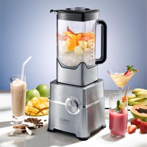 Caso B2000 High Speed Smoothie Blender Standmixer, Silber, 2000 W, 2 L