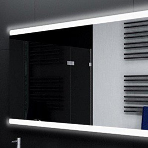 Badspiegel Designo MA2510 mit A++ LED Beleuchtung - (B) 120 cm x (H) 60 cm - Made in Germany - TIEFPREIS Technik 2019 Badezimmerspiegel Wandspiegel Lichtspiegel ob + un beleuchtet Bad Licht Spiegel