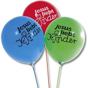 °° Luftballons 50er Pack, Jesus liebt Kinder